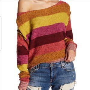 Free people candy land sweater small EUC